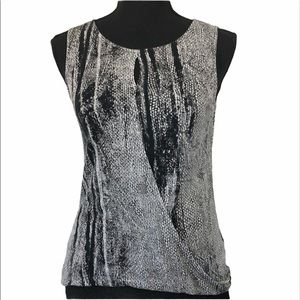 3/15$ H&M Conscious Collection snakeskin top